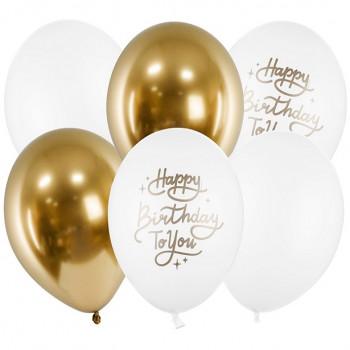 ballons happy birthday en suisse