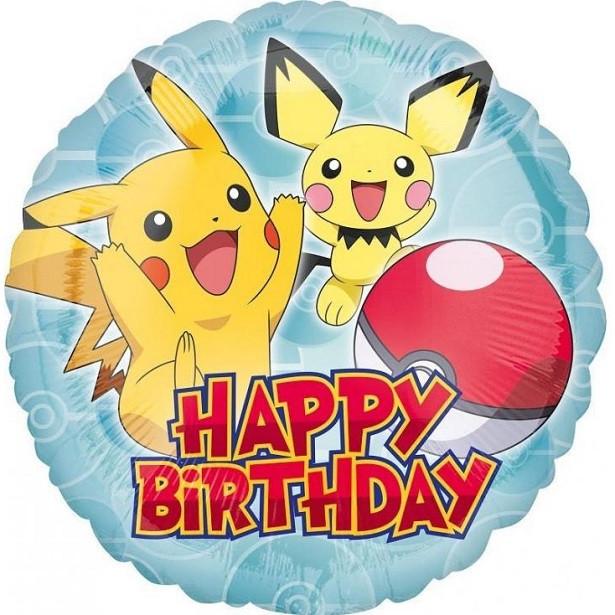 ballon d'anniversaire pokemon en suisse