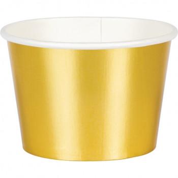 coupelles en or pour fete