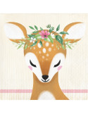 serviettes a boissons bambi