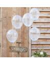 ballons a confettis blancs en suisse