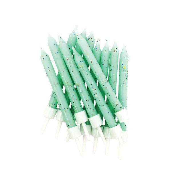 bougies à paillettes vert menthe pas cher en suisse