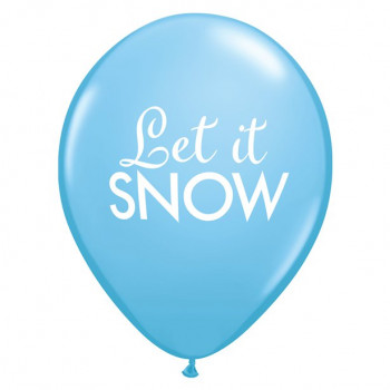BALLONS LET IT SNOW EN SUISSE