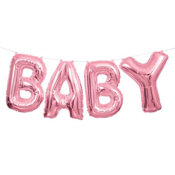 ballon baby rose clair en suisse