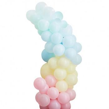 arche de ballons couleur pastel pas cher en suisse