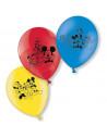 ballons colores mickey mouse en suisse