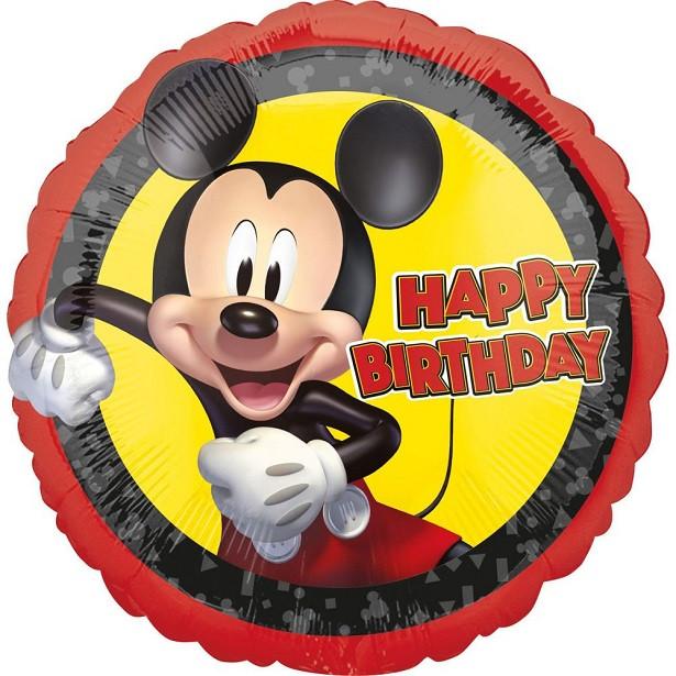 ballon happy birthday mickey