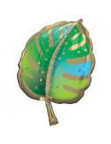 ballon en forme de feuille tropicale