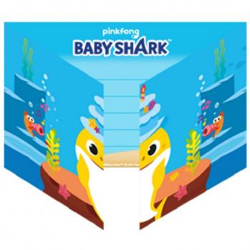 cartes d'invitation baby shark en suisse