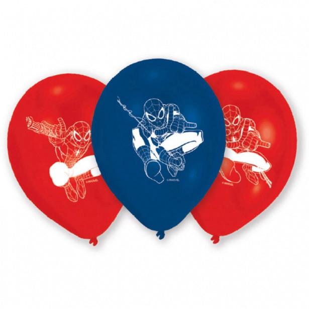 ballons latex anniversaire spiderman
