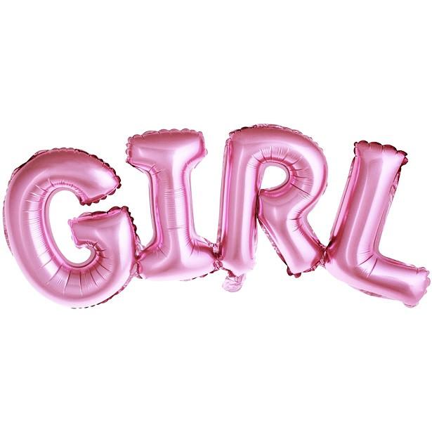 BALLON GIRL ROSE CLAIR