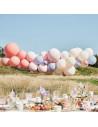 arche de ballons bohème en suisse