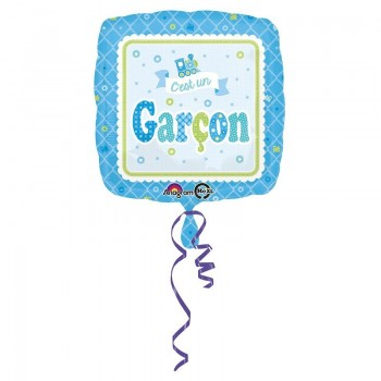Ballon bleu c'est un garçon baby shower fête naissance