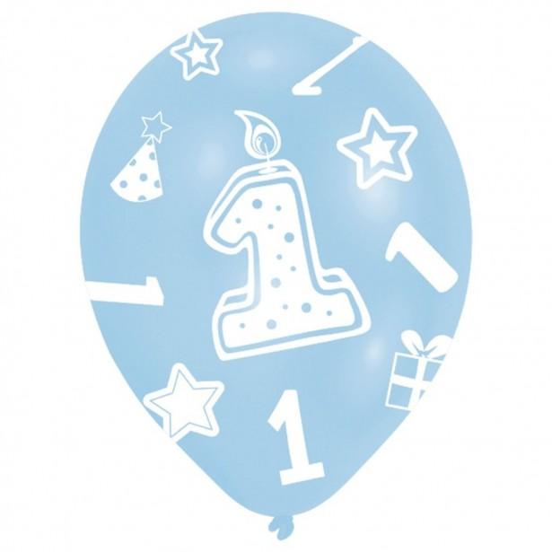 Ballons 1er anniversaire garçon