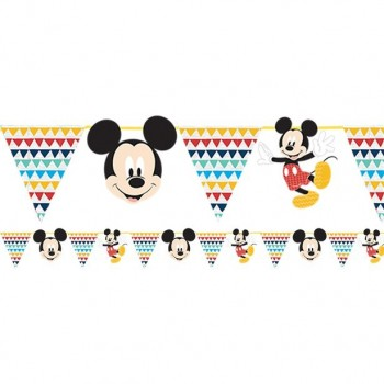 Guirlande anniversaire mickey mouse