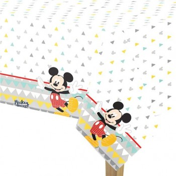 Nappe mickey mouse anniversaire