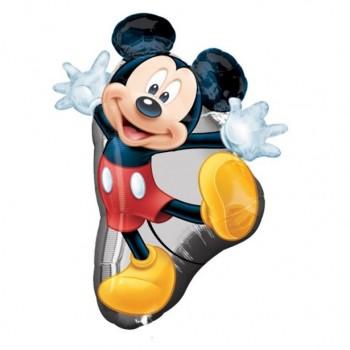 Grand ballon anniversaire mickey mouse
