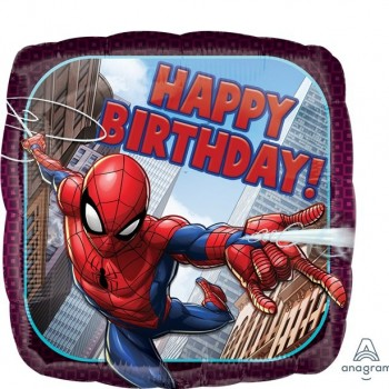 Ballon spiderman anniversaire
