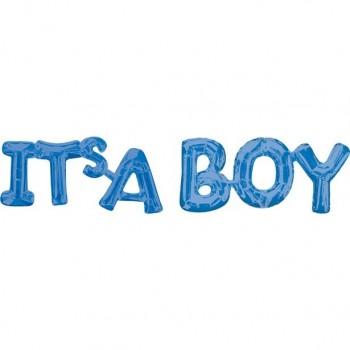 Ballons bleus c'est un garçon