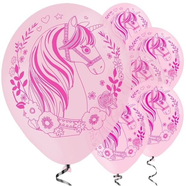 Ballons anniversaire licorne