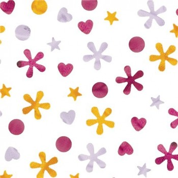 Confetti fête licorne