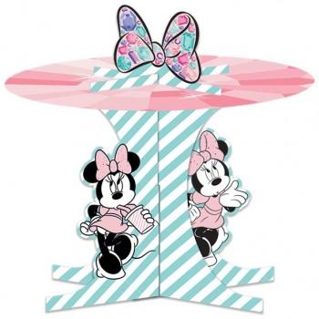 Support à gâteaux anniversaire minnie mouse