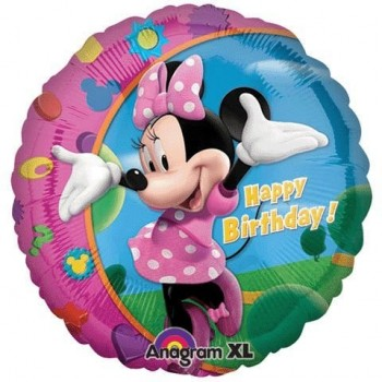 Ballon xl anniversaire minnie mouse