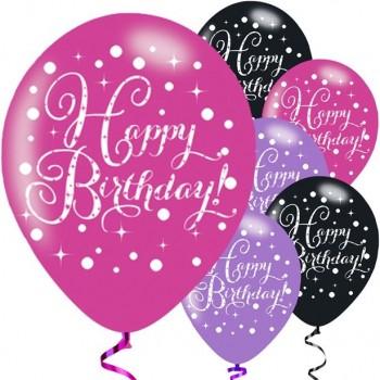 Ballons joyeux anniversaire