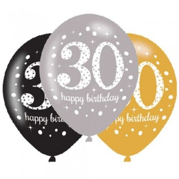 Ballons 30 ans anniversaire