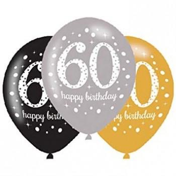 Ballons 60 ans anniversaire