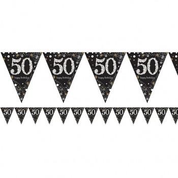 Guirlande 50 ans anniversaire pas cher