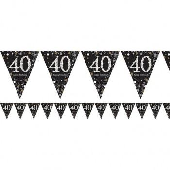 Guirlande 40 ans anniversaire