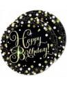 Assiettes joyeux anniversaire pas cher