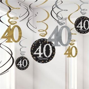 Décorations anniversaire 40 ans