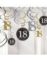 Décorations anniversaire 18 ans CHIC
