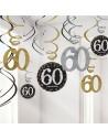 Décorations a suspendre anniversaire 60a ns
