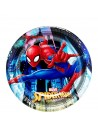 Assiettes anniversaire spiderman