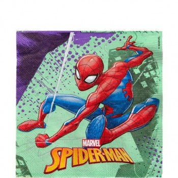 Serviettes anniversaire spiderman