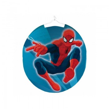 Lampion déco spiderman
