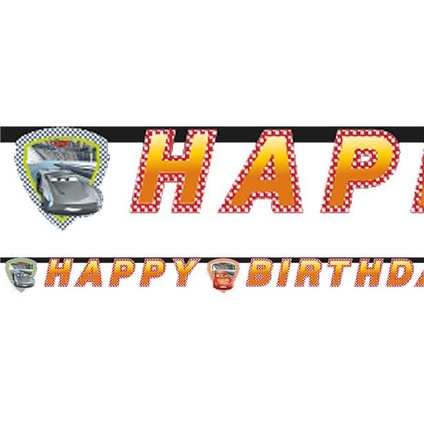 Guirlande anniversaire cars mcqueen