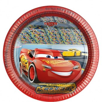Assiettes anniversaire mcqueen cars