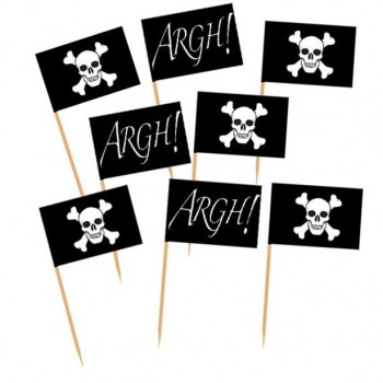Piques drapeau pirate anniversaire