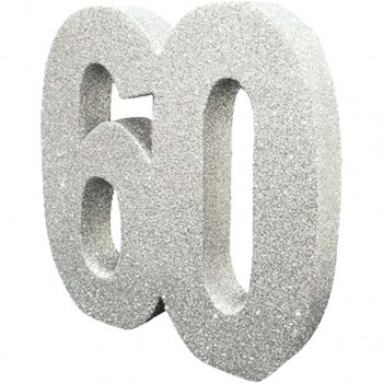 Centre de table anniversaire 60 ans