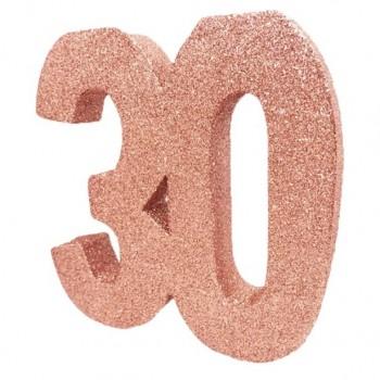 Centre de table anniversaire 30 ans en Suisse