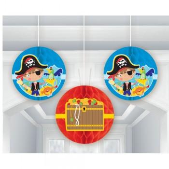 Suspensions d'anniversaire pirate