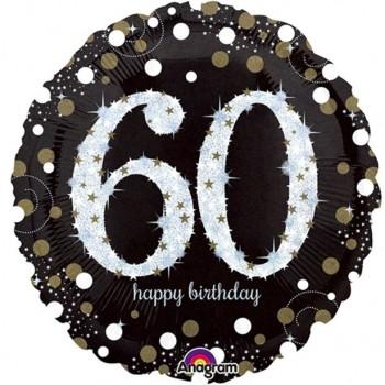 Ballons aluminium 60 ans