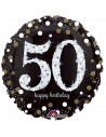 Ballons anniversaire 50 ans aluminium