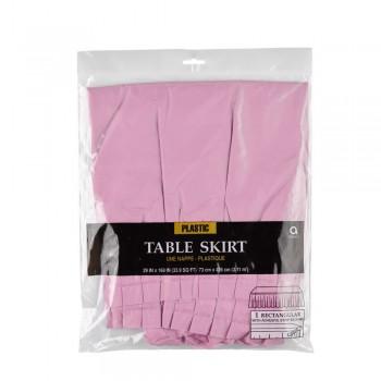 Jupe de table en plastique rose en Suisse