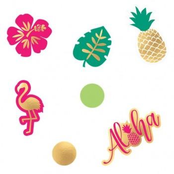 Confettis estivales fête d'été