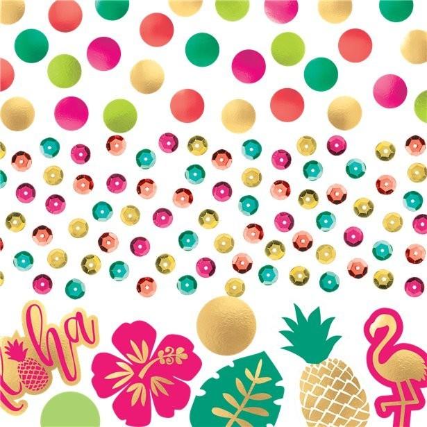 Confettis fête aloha